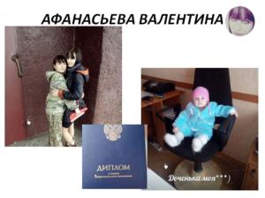 Афанасьева Валентина